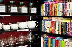 Book and Tea shop, Auckland, NZ.