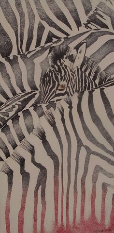 #Zebras Seahorse Art, Ink Illustrations, Lanai, Zebras, Animal Print Rug, Studio, Animals, Animales, Animaux