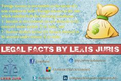 Legal Facts by Lexis Juris - Taxability and definition of Foreign Income.