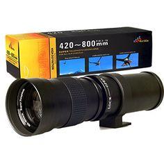 Henweit 420-800mm Super Telephoto Lens for Canon EOS 1D, 5D, 6D, 7D, 10D, 20D, 30D, 40D, 50D, 60D, 100D, 300D, 350D, 400D, 450D, 500D, 550D, 600D, 700D, 1000D, 1100D & 1200D Digital SLR Cameras Henweit http://www.amazon.co.uk/dp/B00MVM93D0/ref=cm_sw_r_pi_dp_lo2dub1DH7D73