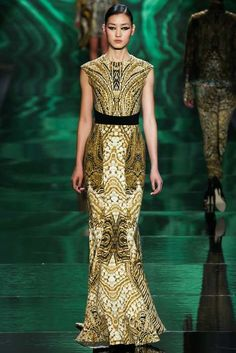 Forest Nymph-Like Fashion - The Zuhair Murad Fall 2013 Couture Collection is Forest-Inspired (GALLERY)
