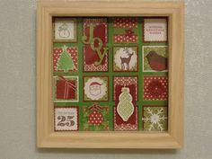 3D Christmas Box - joyous celebrations and jolly bingo bits
