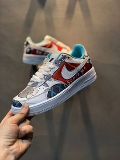 best sneakers 22647 10617 Custom Supreme x Bape x Kaws x Nike Air Force 1 Low Air Force Ones,
