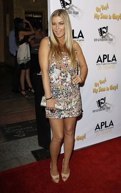 Who made Carmen Electra's sequin dress and tan shoes that she wore at Oy Vey My Son is Gay Premiere in Los Angeles, October Shoes – Christian Louboutin Altadama Pumps in Nude Dress – Haute Hippie Sequin mosiac tank dress Jennifer Hudson, Jennifer Connelly, Kate Hudson, Nude Dress, Sequin Dress, Selena Gomez, Carmen Electra, Tan Shoes, Kristin Cavallari
