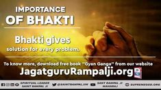 Bhakti gives solution for every problem. Believe In God Quotes, Quotes About God, Good Friday Quotes Jesus, Radha Soami, Bible Studies For Beginners, Wednesday Motivation, Self Confidence Quotes, Knowledge And Wisdom, Spiritual Teachers