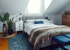 How To Design Your Bedroom For A Great Night's Sleep /// By Faith Towers Provencher of Design Fixation