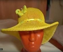 . МК шляпки.