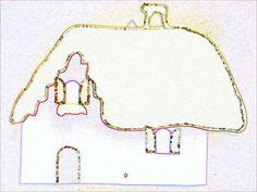 Ιδέες για Χριστουγεννιάτικα ημερολόγια. Εκτυπώστε το πατρόν που υπάρχει και ξεκινήστε το δικό σας ημερολόγιο ;) Φεγγάρι με κοιμισμένο αγγελάκι:... Christmas Calendar, Arrow Necklace, Home Decor, Molde, Decoration Home, December Daily, Room Decor, Interior Design, Home Interiors