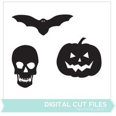 Free Halloween themed printables and cut files at Two Peas!