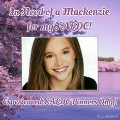 "EXPERIENCED FALDC PINNERS ONLY!!! This is not an edit FALDC, although I do occasionally assign edits. This is an assignment FALDC. If you would like to be Mackenzie in my FALDC then comment and follow my board ""Christy's FALDC <3"" so I can add you. Thanks!"
