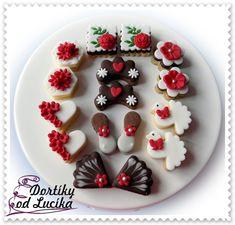 Svatební cukroví :: Dortíky od Lucíka Panna Cotta, Pudding, Cookies, Ethnic Recipes, Desserts, Food, Crack Crackers, Tailgate Desserts, Dulce De Leche