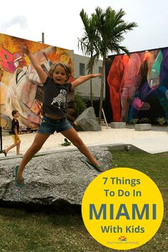 Welcome to Miami! So many cool and fun things to do with your family in Miami!