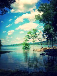 This Gal's Fishing Adventure (Okay, Misadventure) Fishing Adventure, Family Adventure, Vacation Destinations, Vacation Trips, Norris Lake Tennessee, Luxury Travel, Journey, Clouds, Island