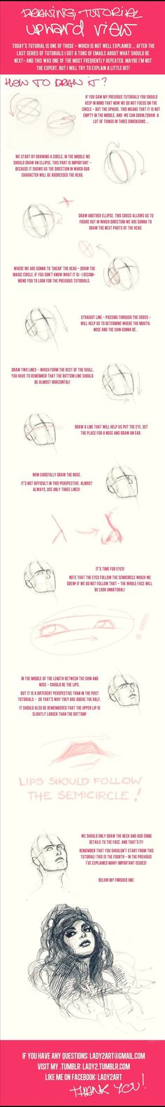 Drawing Tutorial: Upward Views