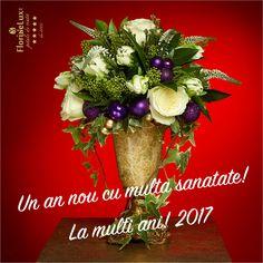 Felicitare de anul nou de la FlorideLux https://www.floridelux.ro/flori-pentru-ocazii/flori-cadouri-sarbatori/flori-aranjamente-masa-cadouri-anul-nou-31-decembrie/