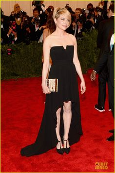 Michelle Williams - in YSL - at the 2013 Met Ball