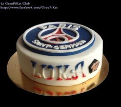 Gâteau logo PSG