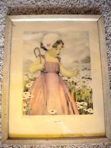 Vintage+Bessie+Pease+Gutmann+Prints   Details about VINTAGE BESSIE PEASE GUTMANN LITTLE BO-PEEP PRINT