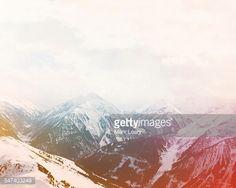 Stock Photo : Hintertux valley
