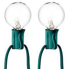 25ct Clear Globe Lights - Room Essentials™