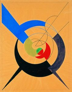 Sophie Taeuber-Arp (1889-1943) was a Swiss artist, painter, sculptor, and dancer. She is considered one of the most important artists of geometric abstraction of the 20th century. Her textile and graphic works from around 1916 through the 1920s are among among the earliest Constructivist works, along with those of Piet Mondrian and Kasimir Malevich. These sophisticated geometric abstractions reflect a subtle understanding of the interplay between color and form.