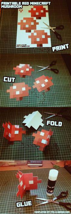 Pdf Sewing Pattern Toadstool Ornament Sewing Tutorial