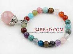 Resultado de imagen para pulseras de perlas y abalorios