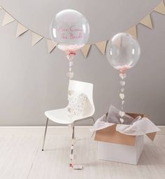 Swoon Heart Confetti Filled Balloon - Other