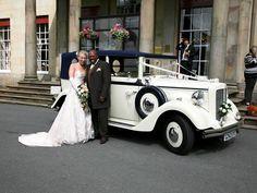 Regent Convertible Wedding Car   vintage wedding car