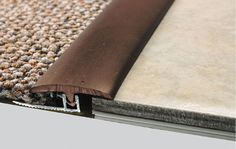 Most up-to-date Screen Carpet Tiles transition Strategies Commercial flooring op. Most up-to-date Screen Carpet Tiles transition Strategies Commercial flooring options are many, but Floor Transition Strip, Carpet To Tile Transition, Transition Flooring, Vinyl Plank Flooring, Basement Flooring, Basement Carpet, Wood Flooring, Ceramic Flooring, Basement Shelving