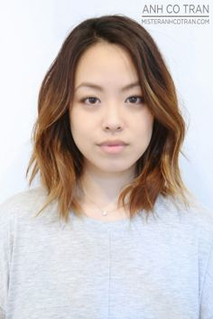 NYC: SHOULDER LENGTH BEAUTIFUL HAIR. Cut/Style: Anh Co Tran. Appointment inquiries please call Ramirez|Tran Salon in Beverly Hills: 310.724.8167