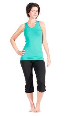 Bamboo clothing, Made in an Ecovillage, cover-up, made in canada, eco-friendly clothing, eco-friendly fabric, activewear, Bamboo cami, yoga top, canadian made,