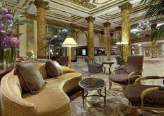 Luxury Hotel Lobby Fairmont San Francisco