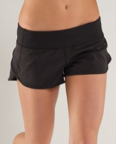 I must own these shorts from Lululemon!