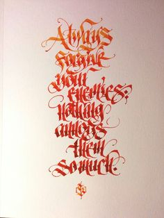 Thomas Brunton (Uvulus) #calligraphy #fraktur #blackletter #handlettering