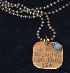 Back by popular demand!! On Ebay!  Min Favorit Dreaming of the Sea Necklace.