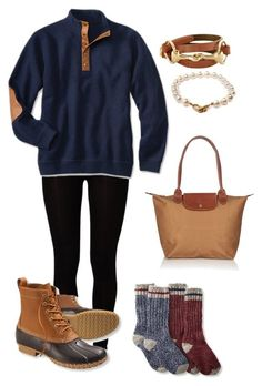 """""""I can't wait for my Bean boots to come in!!"""" by sophisticated-cat ❤️ liked on Polyvore featuring Majestic, L.L.Bean, Pearls Before Swine, Longchamp, women's clothing, women, female, woman, misses and juniors"""