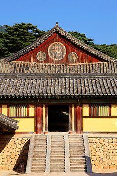 South Korea, Gyeongju, Bulguk-sa, buddhist temple,.