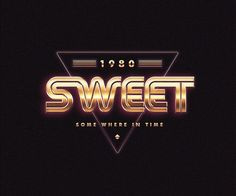 80S LOGOS TRIBUTE by Medusateam - #typography #type