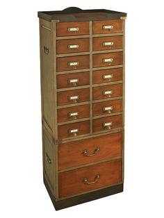 New cabinet for steampunk bath redo
