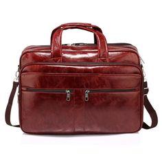 16b82b3ad60a CW00543-BURGUNDY Ladies Men s Fashion Designer Large Laptop Office Bag  Unisex Faux Leather