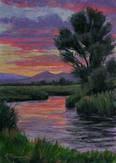 The Best Time To Fish 7x5 Oil, painting by artist Joe Mancuso