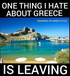 Greek Quotes, Greek Sayings, Travel Humor, Greek Life, My Heritage, Greek Islands, Growing Up, Travel Destinations, Beautiful Places