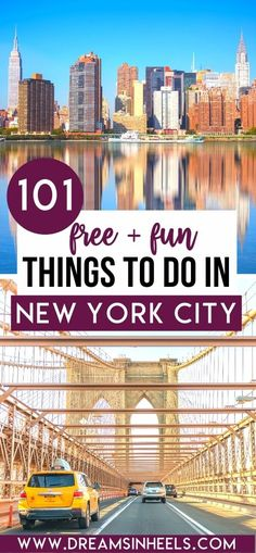 Looking for free activities in NYC that won't break the bank. As a native New Yorker, I compiled a list of the 101 best FREE things to do in NYC. Hopefully, this list will be a tremendous help for anyone on a budget (or rather not having a budget at all!) | budget nyc trip | nyc on a budget travel | budget nyc hotel | nyc on a budget | free things to do in New York City | free things to do in NYC summer | nyc things to do in | new york city aesthetic | new york itinerary | nyc travel tips |