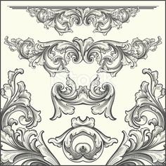 Designed by a hand engraver. Intricately detailed engraving designs of scroll elements including page corners and rule lines. Change color and scale easily with the enclosed EPS and AI files. Also...