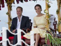 William & Kate in Tuvalu
