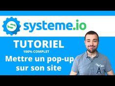 Comment utiliser System io ? TUTORIEL: Installer un Pop-up sur son Site Wordpress Site Wordpress, Challenge, Le Web, Motivation, Content, Plans, Ambition, Pop Up, Business
