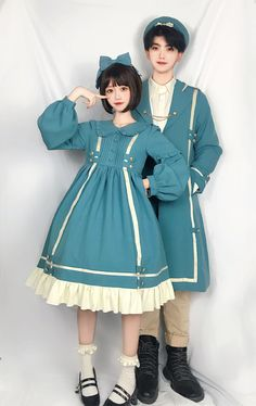 LolitaWardtobe - Bring You the latest Lolita dresses, coats, shoes, bags etc from Trustworthy Taobao indie Brands. We never resell Lolita items from untrustworthy Taobao stores. Harajuku Fashion, Japan Fashion, Kawaii Fashion, Lolita Fashion, Cute Fashion, Girl Fashion, Fashion Dresses, Rock Fashion, Emo Fashion