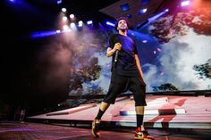 J. Cole brings introspective show to Hollywood Casino Amphitheatre