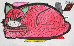My Crayola Classroom: In the Style of Andy Warhol- Cats!